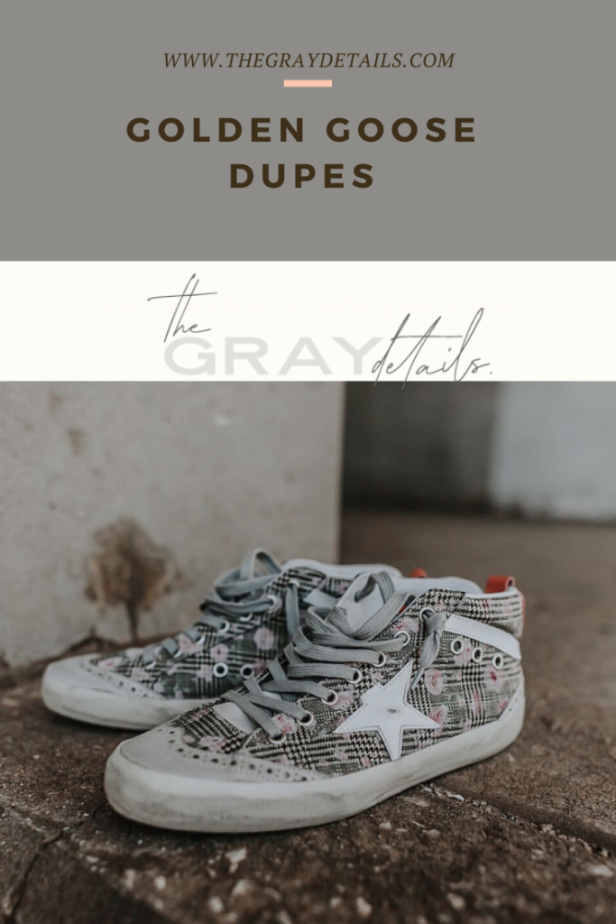 Golden Goose Sneaker Dupes - the gray