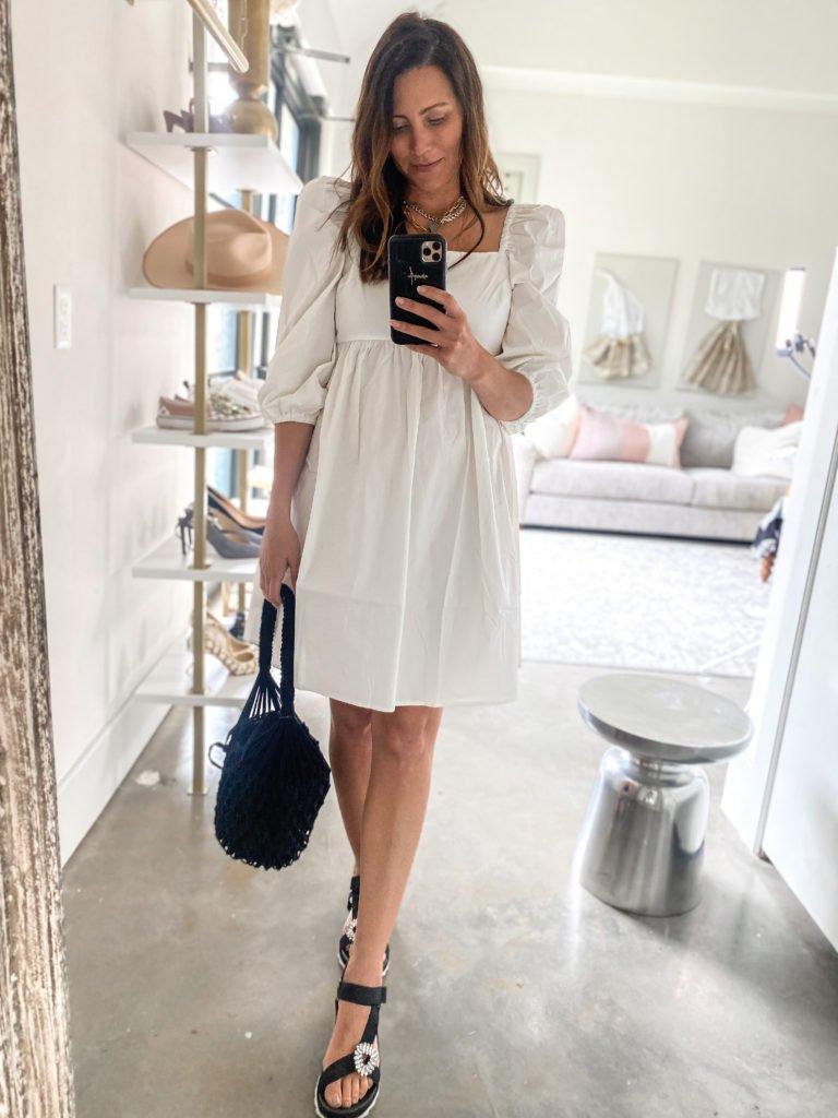 white dress, bride on a budget, Walmart Fashion, affordable dresses for summer