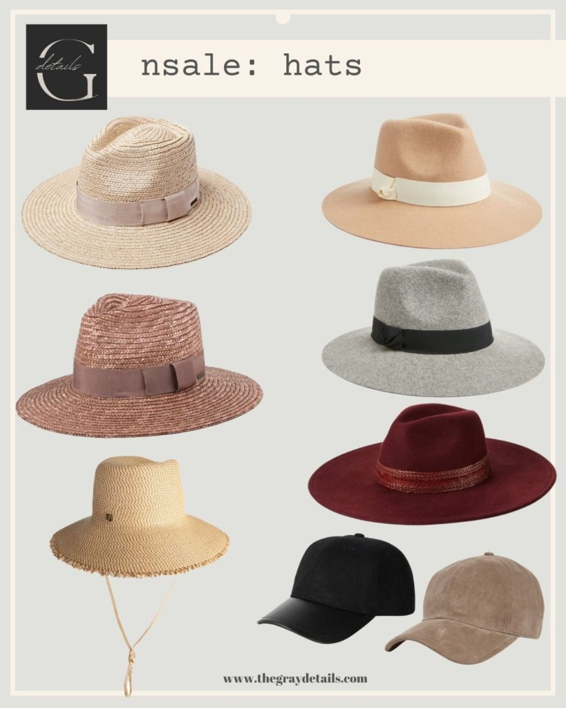 best summer and fall hats, Nordstrom Anniversary Sale