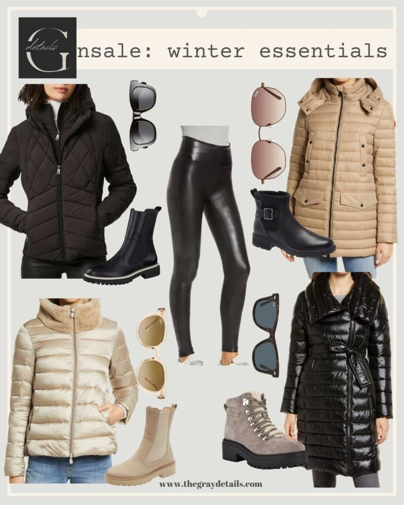 Nordstrom Anniversary Sale, winter essentials