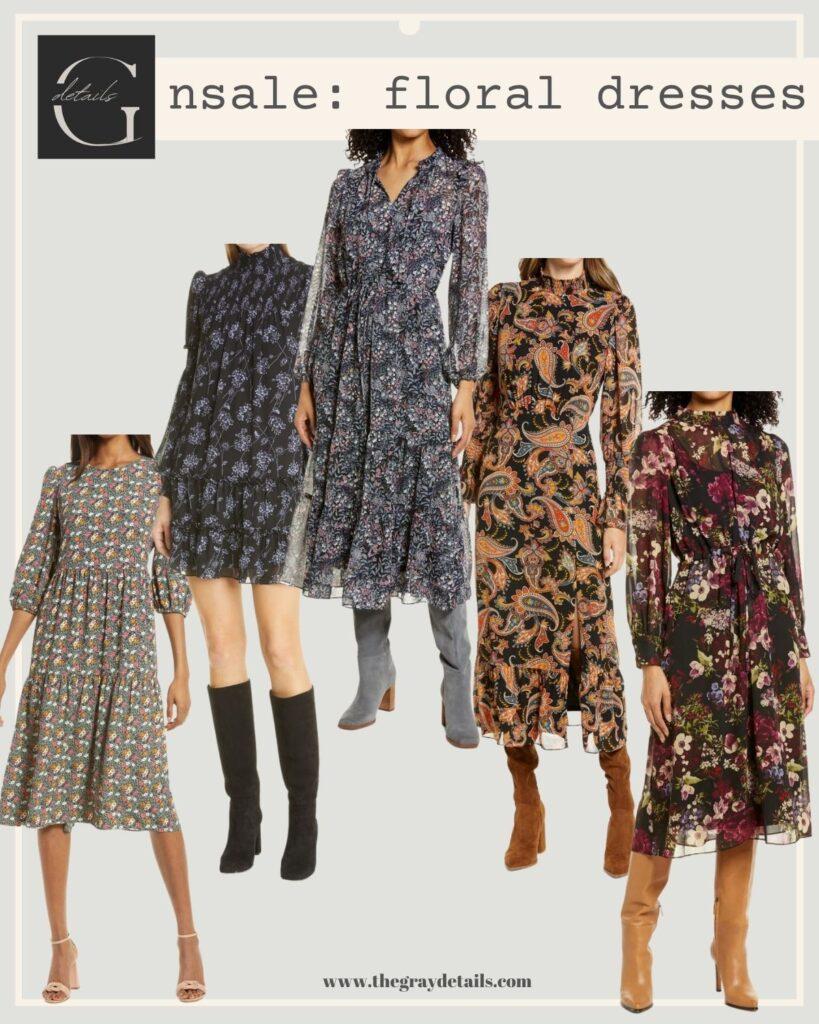 best floral dress, Nordstrom Anniversary Sale