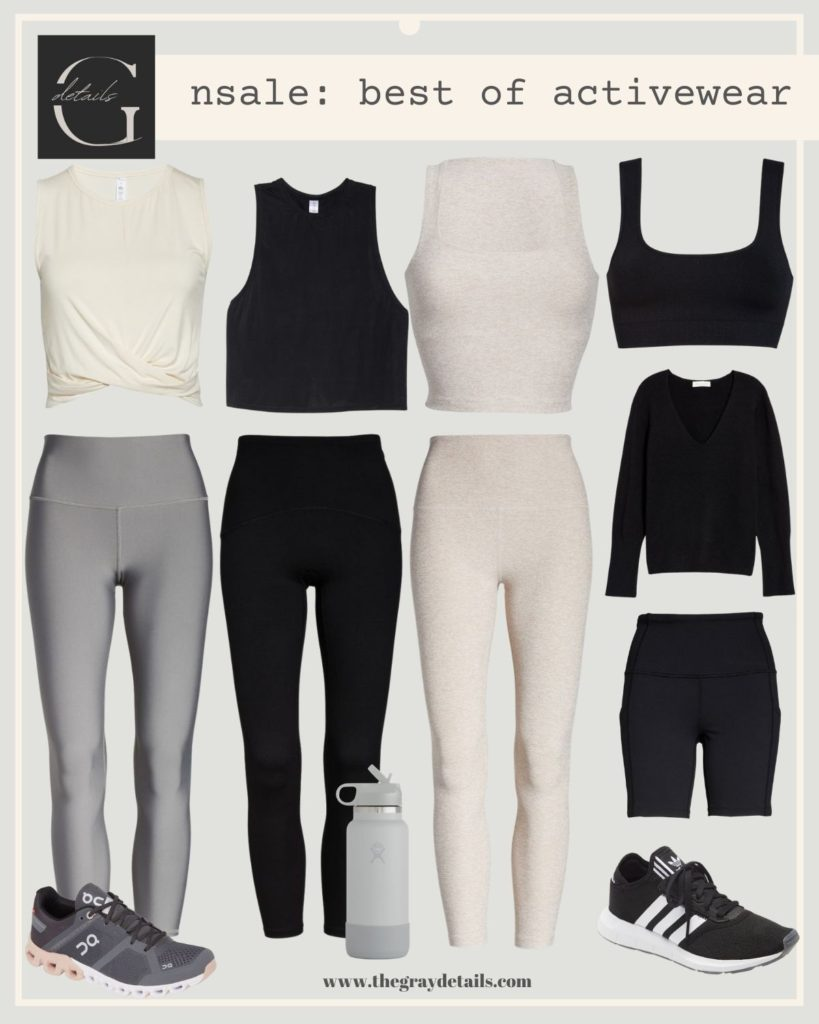 best activewear on sale for nordstrom anniversary sale