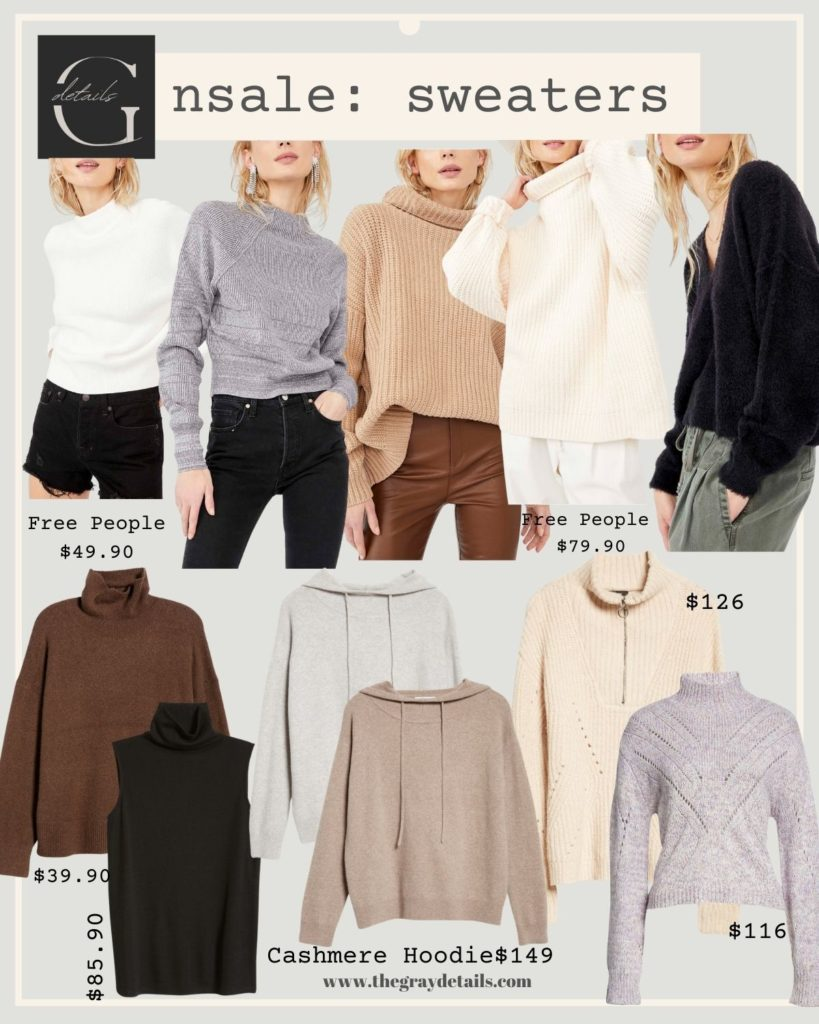 Nordstrom Anniversary Sale, free people sweater on sale