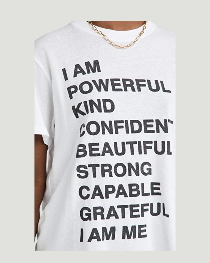 Slogan Graphic Tees on Amazon