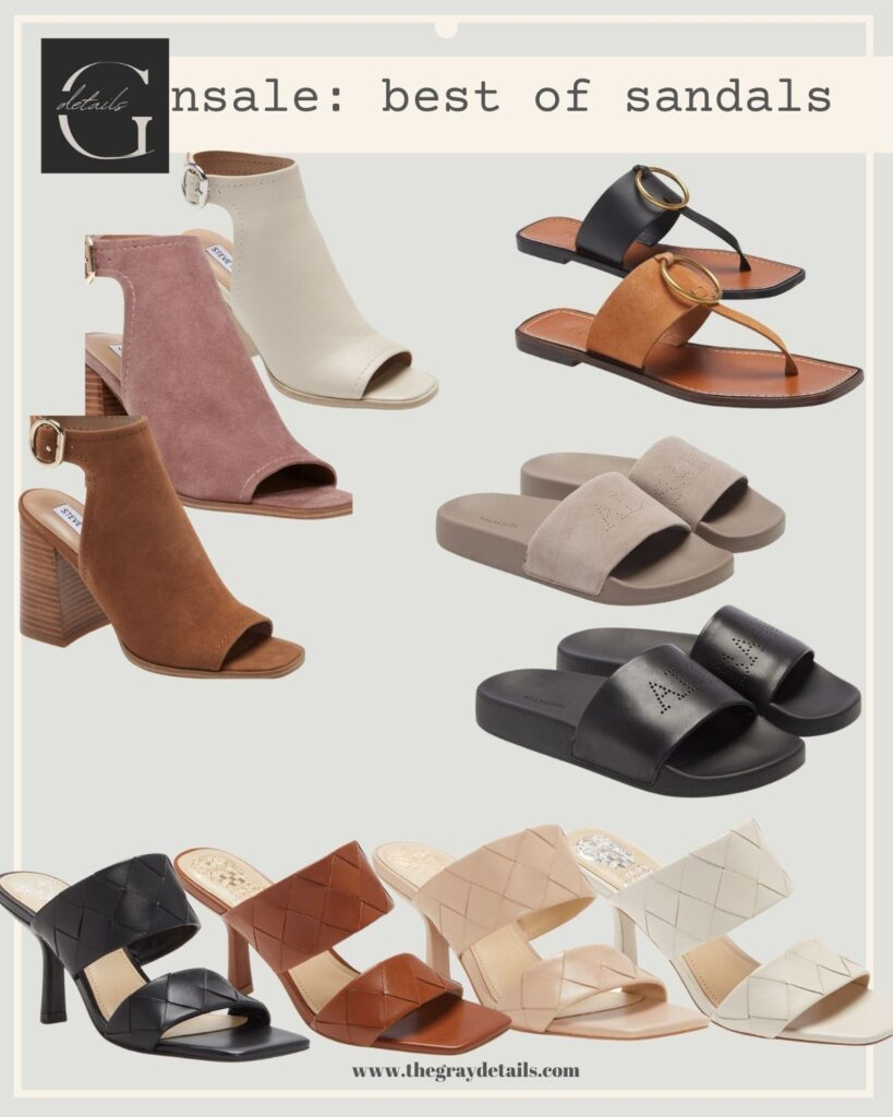 summer sandals, shoes for work